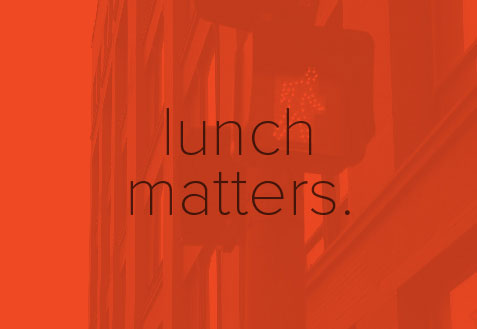 lunch matters.